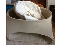 Stokke Bounce and Sleep Day Bed and bouncer
