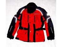 MOTORBIKE HEINGERICKE ALL SEASON TOURING JACKET FEMALE WITH PROTECTION PADS - EXCELLENT CONDITION