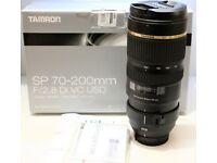 Tamron SP 70-200mm f/2.8 Di VC USD, Nikon Fit UK Model