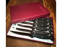 Steak cutlery set 6 piece