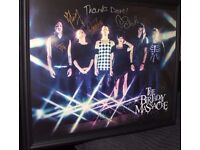 The Birthday Massacre - Signed and Framed Promotional Poster