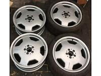 """AMG 18"""" WHEELS and 18"""" TYRES"""