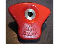AL-KO SECURITY CARAVAN WHEEL LOCK LOZENGE No. 15