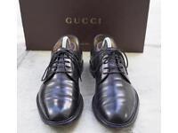 GUCCI formal men's lace up shoes