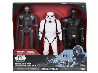 BRAND NEW!!! Star Wars Rogue One Action Figure 1xK-2SO 1xStormtrooper 1xDeath Trooper 18_20inch Tall