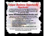 *** Unique Manchester Business Opportunity ***