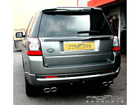 Land Rover Freelander 2 with Custom Exhaust (Cat Back) with Dual Twin Tail Pipes