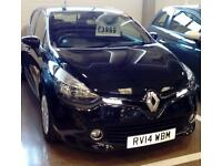 RENAULT CLIO DIESEL HATCHBACK 1.5 dCi 90 ECO Expression+ Energy (black) 2014