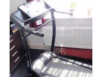 Dynamix Treadmill T200E - Running,Jogging, Walking Electric Folding Machine