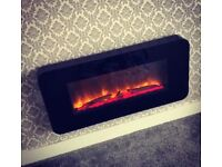 Brisco Electric Wall Fire