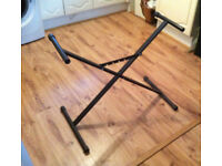 Keyboard stand (Manor Park station)