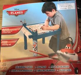 Disney Planes Colouring Table
