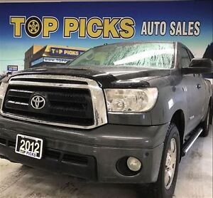2012 Toyota Tundra SR5, 4X4, TRD PACKAGE, ALLOY WHEELS, 5.7 LITE