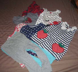 Clothes - Girls' 4-5 Years - Various brands - 8 Items - Good Condition