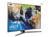 """49"""" SAMSUNG Smart 4K Ultra HD HDR LED TV UE49MU6470 warranty and delivered"""