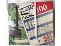 Hozelock (600 litres/hour) Cascade Pump Fountain Set New Unopened Pack