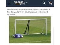 Igoal 12ft x 6ft inflatable football goal
