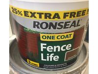 "Ronseal Fencelife "" Country Oak colour"