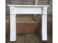 Wooden Fire Place Surround 106cm Tall, 119cm Wide Open to Offers