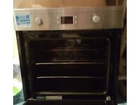 Almost new Beko electric built in single oven