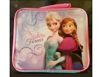 Girls frozen lunch box bag