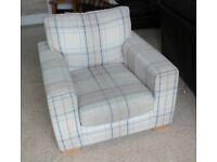 NEXT ARMCHAIR. NEARLY NEW