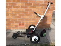 Motorised electric golf trolley caddy folding