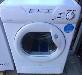 **CHRISTMAS SALE** New Graded Candy Sensor Condenser Dryer 9kg - White