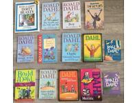 14 x Roald Dahl books