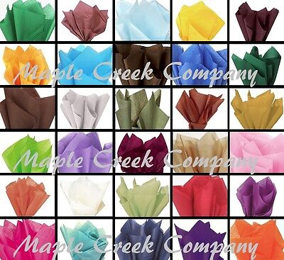 10 Sheets of Tissue Paper - 33 Colors to Choose From FOR GIFT BAGS & CRAFTS (Craft Tissue Paper)