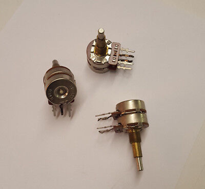 Cts Dual 50k Ohm Pot 1377427 Dual Shaft Dual Mount Options Pc Or Chassis Nos