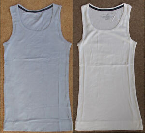 Tommy-Hilfiger-Designer-Ladies-Sleeveless-Ribbed-Vest-Tank-Top-T-Shirt-Bargain