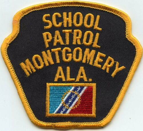 MONTGOMERY ALABAMA AL SCHOOL PATROL POLICE PATCH