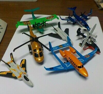 7 MATCHBOX  MEATAL AIRPLANES/ HELICOPTERS