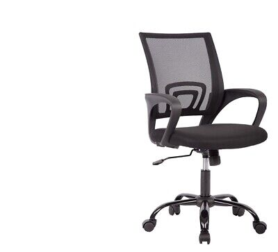New Free Shipp Office Mid Back Swivel Lumbar Support Ergonomic Mesh Chair