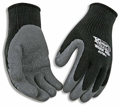 Kinco 1790-xl Warm Grip Latex Coated Gloves X-large Gray
