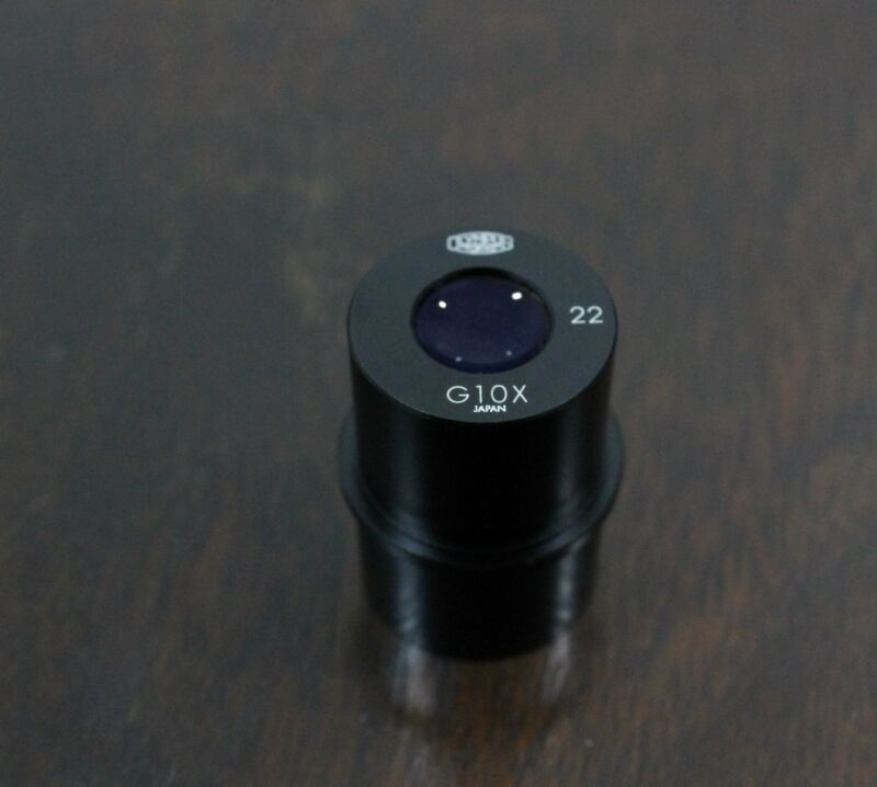OLYMPUS G10X 22 10x Microscope Eyepiece