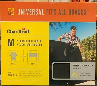 Char Broil All Season Universal Grill Cover Medium 52 In Wide 40 In High ()