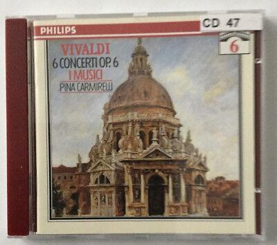 Vivaldi-Edition 6: 6 Concerti Op. 6 - I Musici: Pina Carmirelli