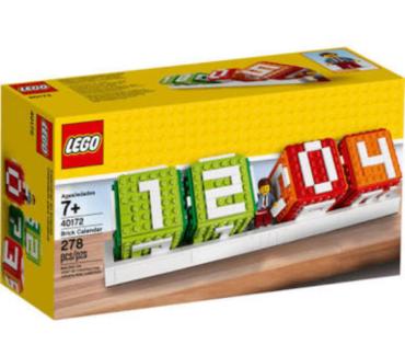Lego Calendar NEW
