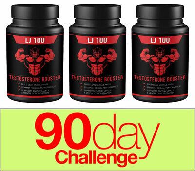 QFL LJ100 Premium Testosterone Booster for Men - Male Enhancing Pills - 180 Cap.