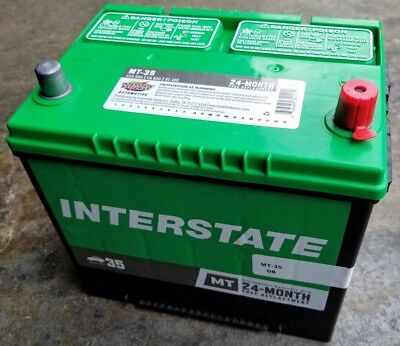 Car Battery-Mt INTERSTATE MT-35 Vehicle Starting - Interstate Car