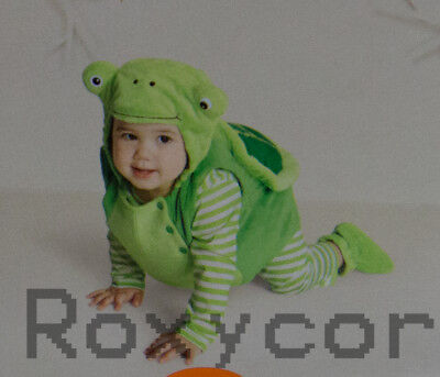 Turtle Halloween Costumes Babies (Halloween Infant Hyde and EEK Infant Green Turtle Costume Size 0-6 months)