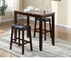 ROUND HILL 3PC TABLE SET
