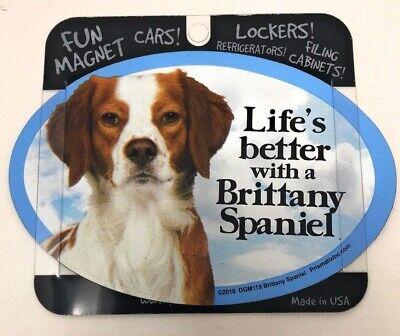 "Beagles Dog Bone Car Magnet 2/"" x 7/"" USA Made I Heart Love"