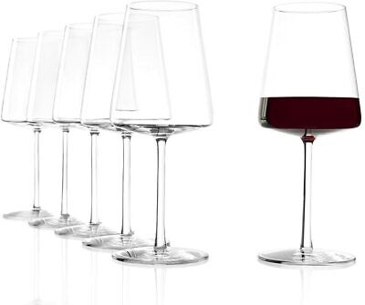 Stölzle Lausitz Rotweinkelche Power 520 ml I Rotweinglas groß 6er Set I Weingläs