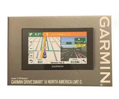 Garmin DriveSmart 51 LMT-S Auto GPS Monitor Navigation System Free Shipping