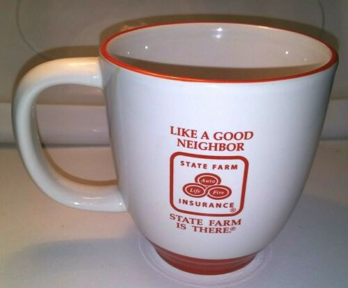 State Farm Insurance Coffee Cup Mug Vintage Double Sided
