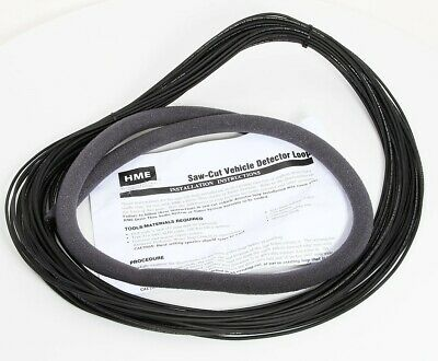 Hme Saw-cut Drive Thru Vehicle Detector Loop Wire 18 Awg 100 Ft 333g012r Rev A