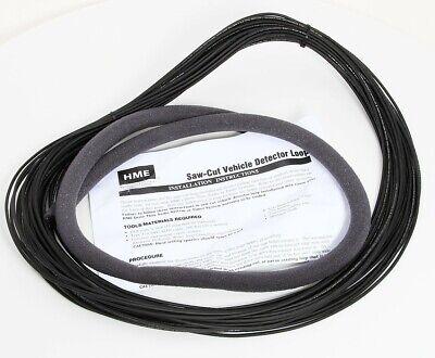 Hme Saw-cut Drive Thru Vehicle Detector Loop Wire 18 Awg 100 Ft 333g012r Rev A